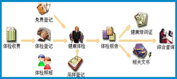 从业人员健康体检管理系统<br/>(网络版)